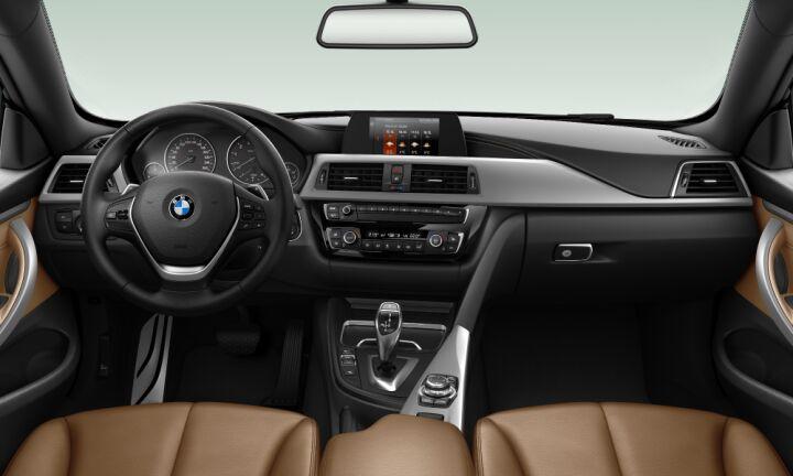Vista Interior delantera del BMW Serie 4 420i Cabrio 135 kW (184 CV)