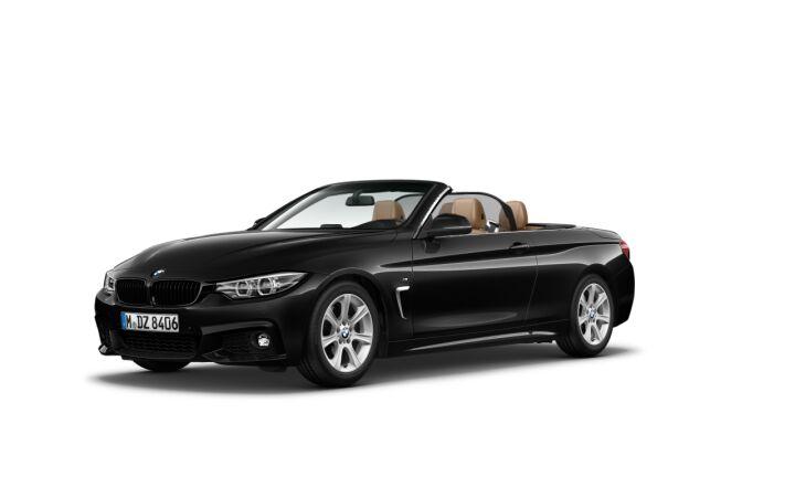 Vista Tres cuartos delantera izquierda del BMW Serie 4 420i Cabrio