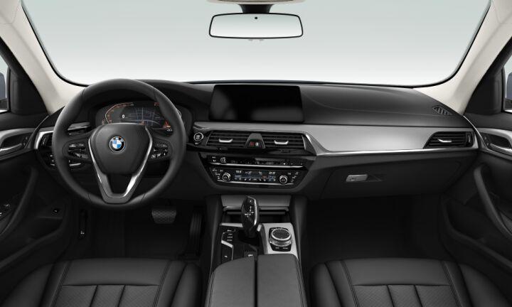 Vista Interior delantera del BMW Serie 5 520d Touring 140 kW (190 CV)