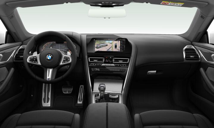 Vista Interior delantera del BMW Serie 8 840d xDrive Cabrio 235 kW (320 CV)