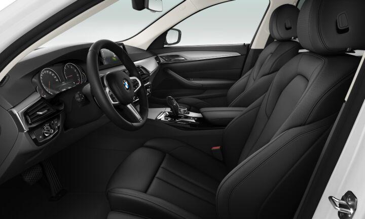 Vista Interior derecha del BMW Serie 5 520i 135 kW (184 CV)