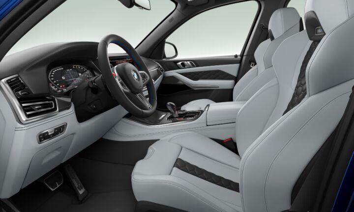 Vista Interior derecha del BMW M X5 M