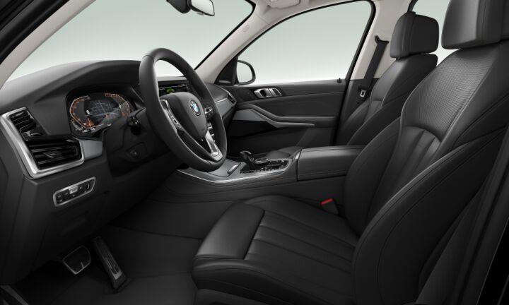 Vista Interior derecha del BMW X5 xDrive40i
