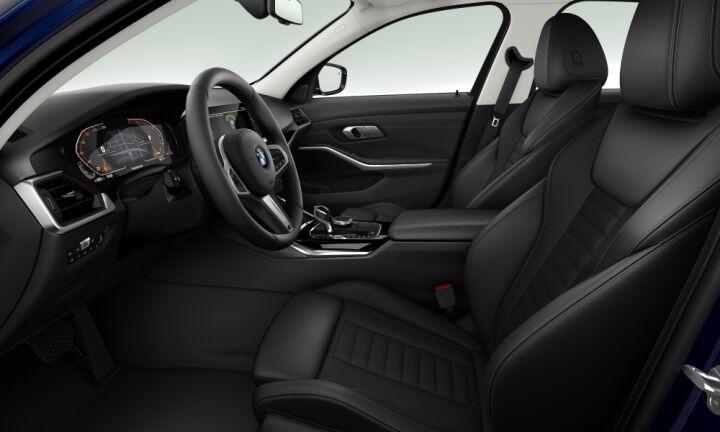 Vista Interior derecha del BMW Serie 3 320i 135 kW (184 CV)