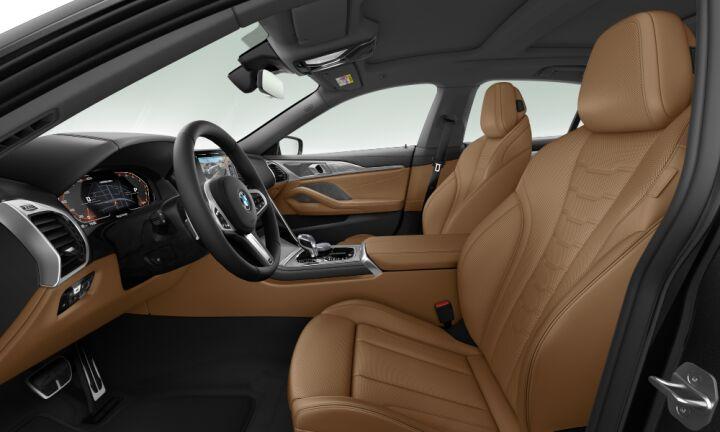 Vista Interior derecha del BMW Serie 8 M850i Gran Coupe