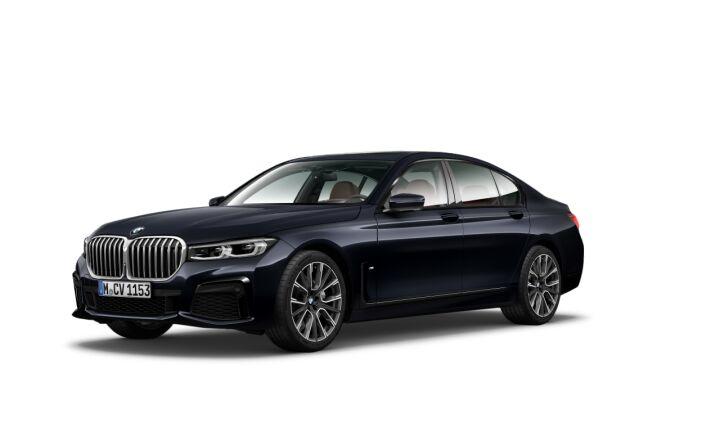 Vista Tres cuartos delantera izquierda del BMW Serie 7 740i 250 kW (340 CV)