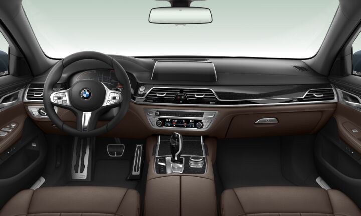 Vista Interior delantera del BMW Serie 7 740i 250 kW (340 CV)