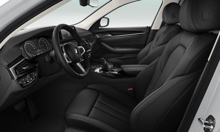 Vista Interior derecha del BMW Serie 5 520i
