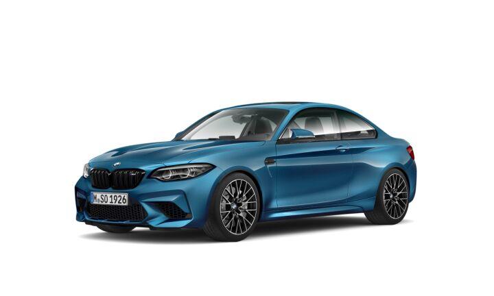 Vista Tres cuartos delantera izquierda del BMW Serie 2 M2 Competition
