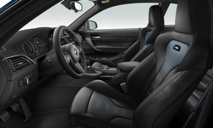 Vista Interior derecha del BMW Serie 2 M2 Competition