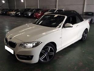BMW Serie 2 218i Cabrio 100 kW (136 CV)  de ocasion en Madrid