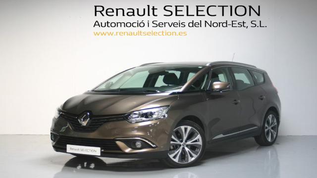 renault grand scenic dci 110 marrón girona por 19.700 € - ref375971