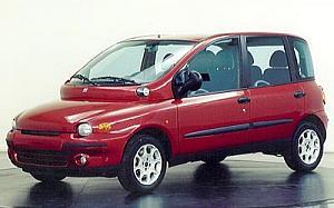 Fiat Multipla 1.9 JTD ELX  81 kW (110 CV)  de ocasion en Madrid