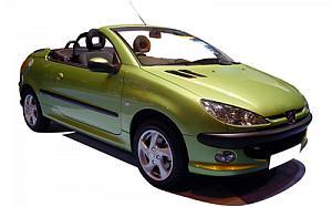 Peugeot 206 CC Cabrio 1.6 Auto 80 kW (110 CV)