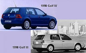 Foto 1 Volkswagen Golf 2.0 GTI 16v 110kW (150CV)
