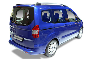 motorflashback configurar coche nuevo ford tourneo courier 1 5 tdci 75cv ambiente. Black Bedroom Furniture Sets. Home Design Ideas