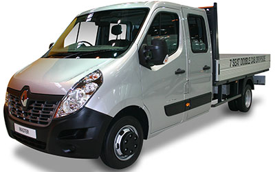 Renault Master Chasis Doble Cabina L3 4500 RG Energy dCi 121 kW (165 CV)