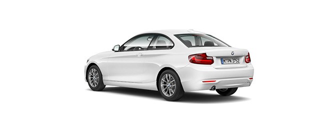 bmw serie 2 218d coupe 110 kw (150 cv) cambio manual blanco km0